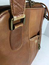 American Angel Brown Leather Multi Pocket Shoulder Bag – Distressed image 10