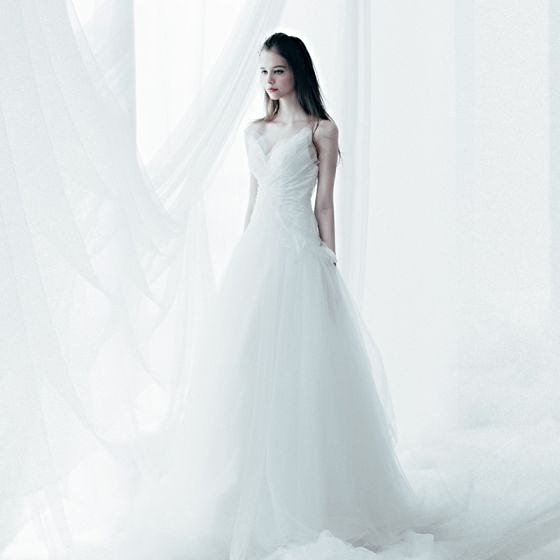 Sparkly Chic/Beautiful Wedding Dress Cathedral Train White A-Line ...