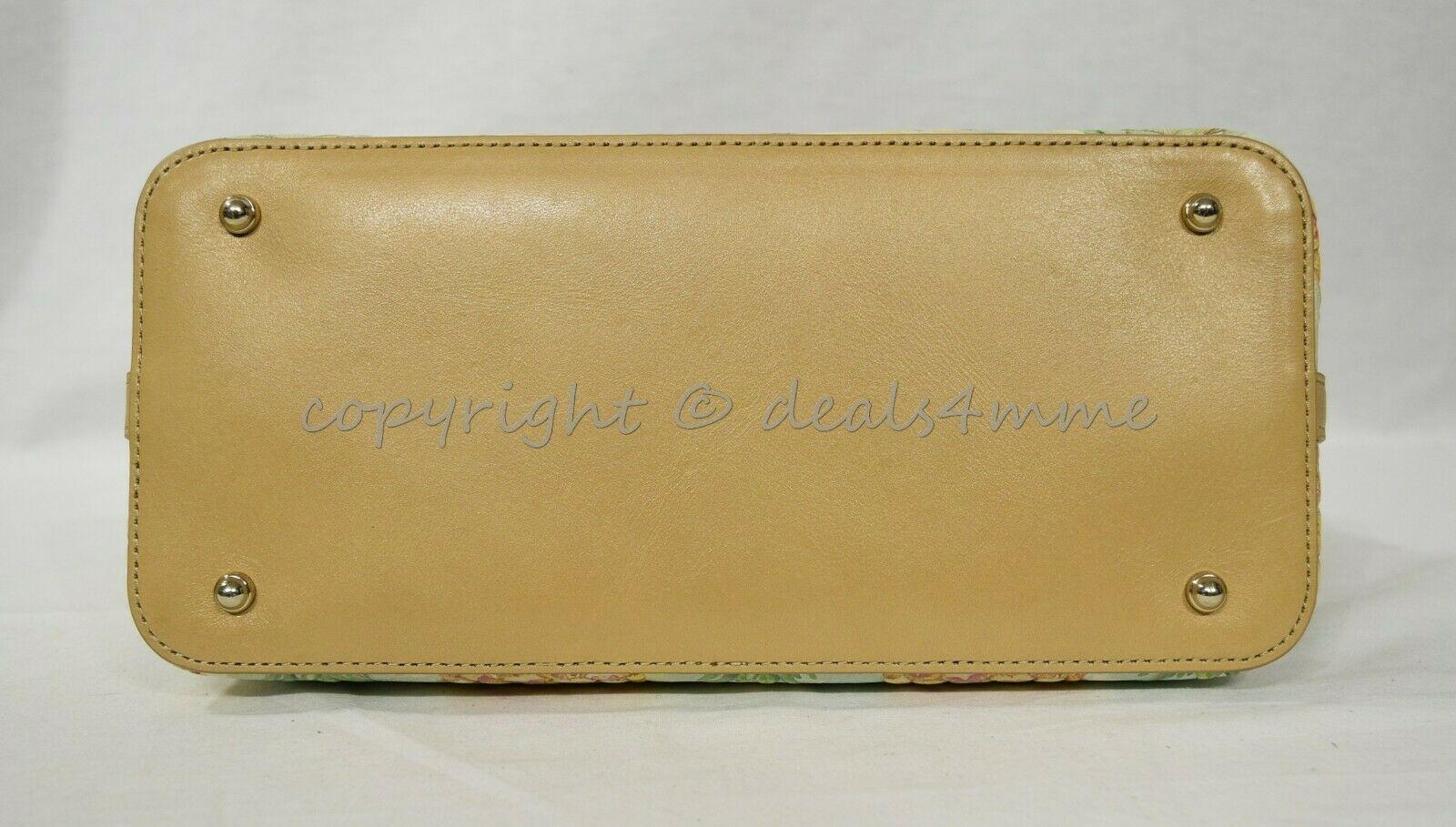 NWT Brahmin Duxbury Leather Satchel/Shoulder Bag in Multi Pompano image 11