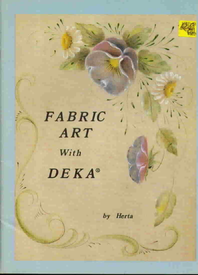 Fabric art with deka by herta