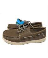 Margaritaville Men's Boat Shoe, Palm (Brown). New in Box. Warehouse over... - $22.99