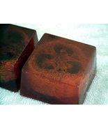 2 Sandalwood Amber Handmade Loofah Bar Vegan Soap Berrysweetstuff.com HA... - $9.50