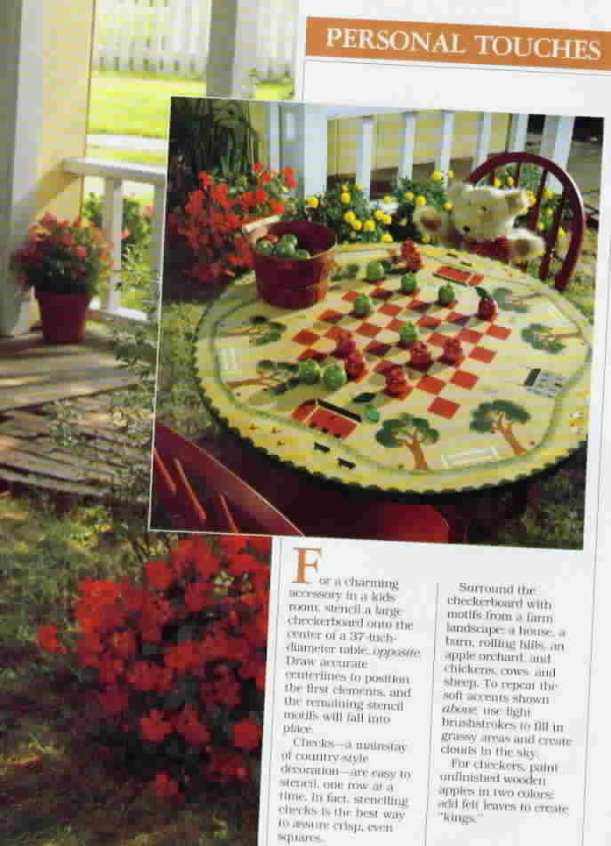 Vintage Better Homes and Gardens Country Stenciling