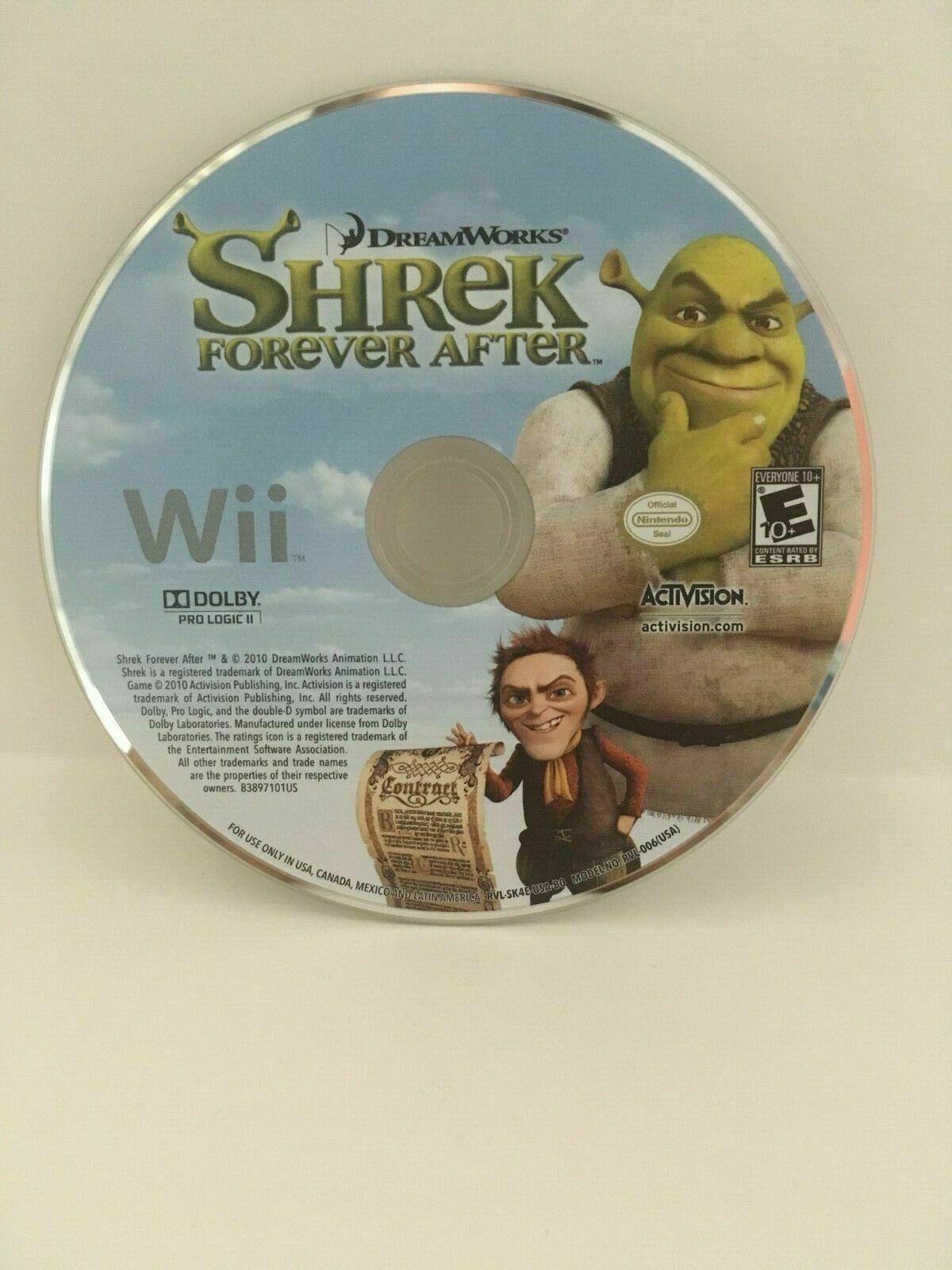 Shrek Forever After: The Final Chapter (Nintendo Wii, 2010) CIB, USA Seller image 5