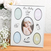 Baby Collage Aluminum frame from Gifts By Fashioncraft  - $6.99