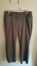 New York and Company Women's Gray Light weight Dress pants Size 8 - $5.99
