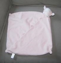 "Angel Dear -Pink Lamb 12"" Security Baby Girl Blanket Soft Plush Toy Blankie EUC - $18.33"