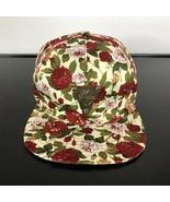 WOMEN  Hater Hat ROSE FLORAL Print  SnapBack. Adult Adjustable Strap. Me... - $17.82