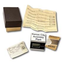 Ford Kansas City Assembly Plant Desk Clock Quartz Digital - $34.95