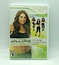 Nintendo Wii Jillian Michael's Fitness Ultamatum 2009 Complete w/ Manual - $7.98