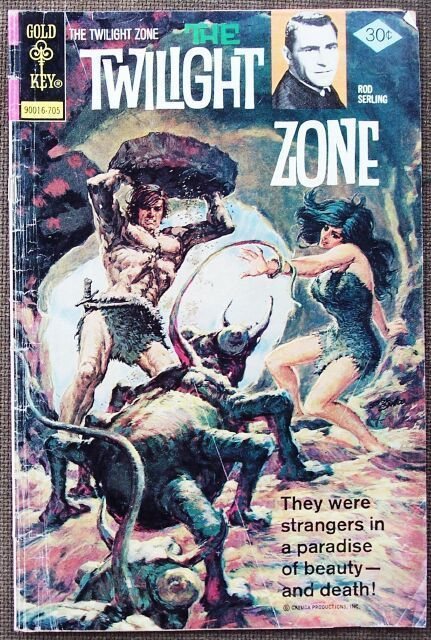 Comic Gold Key The Twilight Zone No. 77 May 1977