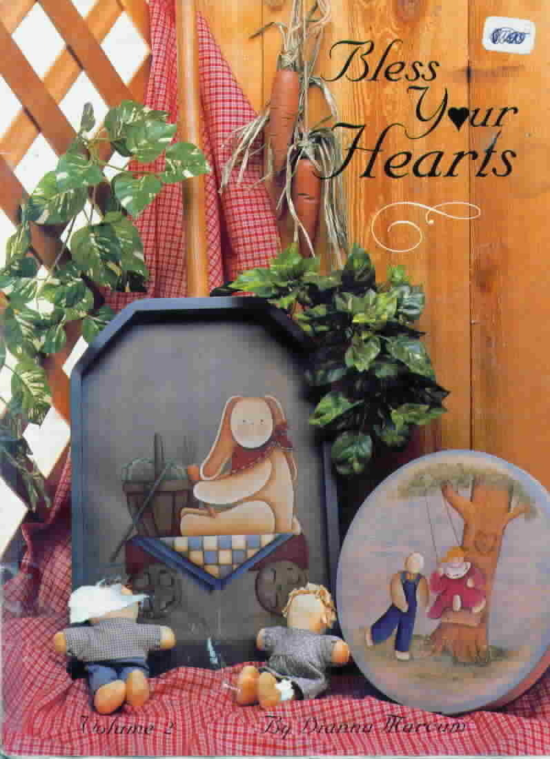 Bless Your Hearts Volume 2 Folk Art Painting by Dianna Marcum  Bless Your Hearts
