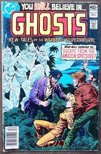 Comic DC Ghosts No 83 December 1979