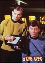 Star Trek: The Original Series Kirk and McCoy Portrait Magnet, NEW UNUSED - $3.95