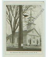 FIRST METHODIST EPISCOPAL CHURCH, LACONIA,NH -unused - $8.99