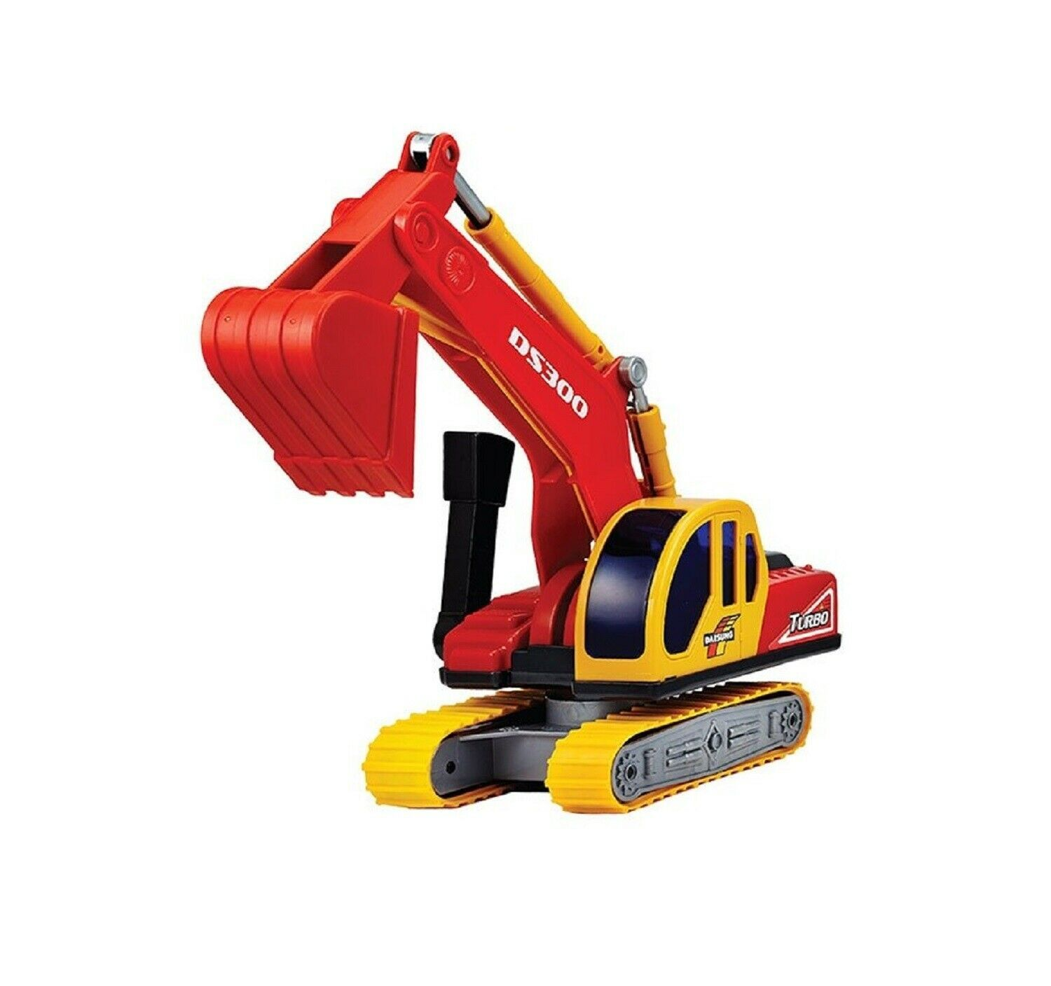 Daesung Toys Excavator Vehicle Construction Sound Effect Heavy Equipment Car
