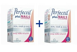 2x VITABIOTICS Perfectil Plus Skin -  Hair and Nails Extra Support 2x60tabs - $59.00