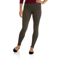 Faded Glory Women's Full Length Knit Jegging Raven Dark Gray Pants Work ... - $9.75