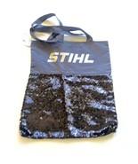 Stihl Sequin Tote Bag Reversible Flip Sequins Black Sample Shopping - $14.84
