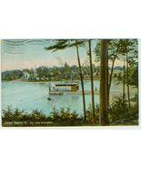 CEDAR BEACH, VT, ON LAKE CHAMPLAIN - pm 1910 - $8.09