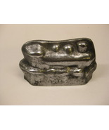 "Modernist Mid-Century Heavy Aluminum ""Ges Gesch"" Train Mold - $595.00"
