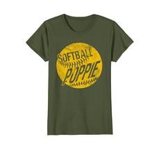 Funny TeeFunny Softball Poppie T-Shirt Ball Poppie Baseball Gifts Men Wowen - $19.95+