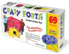 Crazy Forts,Purple, Build your own creation 69 pieces - $72.00
