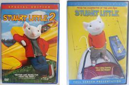 Stuart Little 1 and 2 DVD lot movie fullscreen widescreen childrens fami... - $12.99