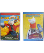 Stuart Little 1 and 2 DVD lot movie fullscreen widescreen childrens fami... - $12.99