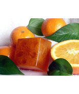 2 Orange Tangerine Handmade Loofah Bar Soap by Berrysweetstuff.com - $9.50