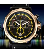 Paul Perret Men's Voltaire 3 Sub-Dial Swiss Chronograph Watch w/Date-Lis... - $179.55