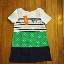 NWT Gymboree Girls Spring Prep Ponte Color Block Dress Size 4 - $15.79
