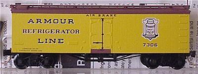 Micro Trains 58030 Armour 36' Reefer 7306
