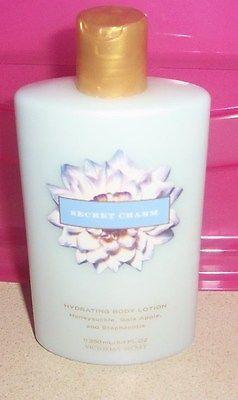 Victoria's Secret ~Secret Charm ~ 8.4 oz Hydrating Body Lotion (x2)~ NEW