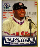 Seattle Mariners Ken Griffey Jr Replica Hall of Fame Plaque - $25.73