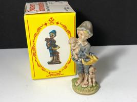 WADE WHIMSIES MINIATURE porcelain figurine sculpture England Boy Blue nu... - $24.10