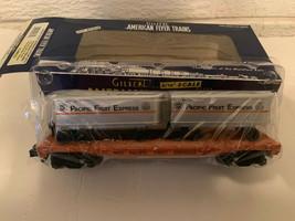 American Flyer 6-48533 Pacific Fruit Express Flatcar w 2 Piggyback Trail... - $59.00