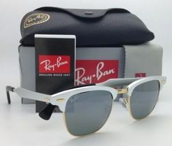 8a3f2c9101bbc Ray-Ban Sonnenbrille Clubmaster Aluminium RB 3507 137 40 51-21 Silber W
