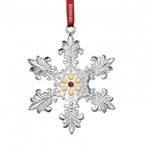 Waterford 2015 Annual Silver Snowflake Ornament New In Box # 40009156 - $41.23