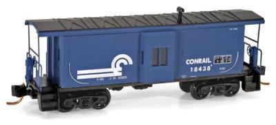 Micro Trains 13000020 Conrail Baywindow Caboose 18438