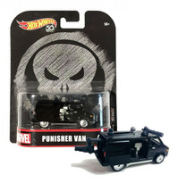 Hot Wheels Marvel Punisher Van 4/5 Real Riders 50th Anniversary MOC - $10.88