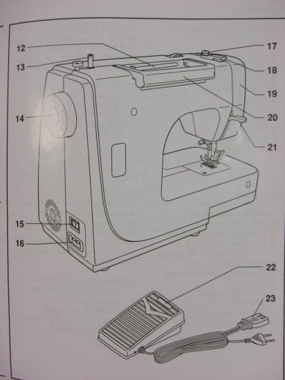 Singer Model 8280 & 8280-A Instruction Manual
