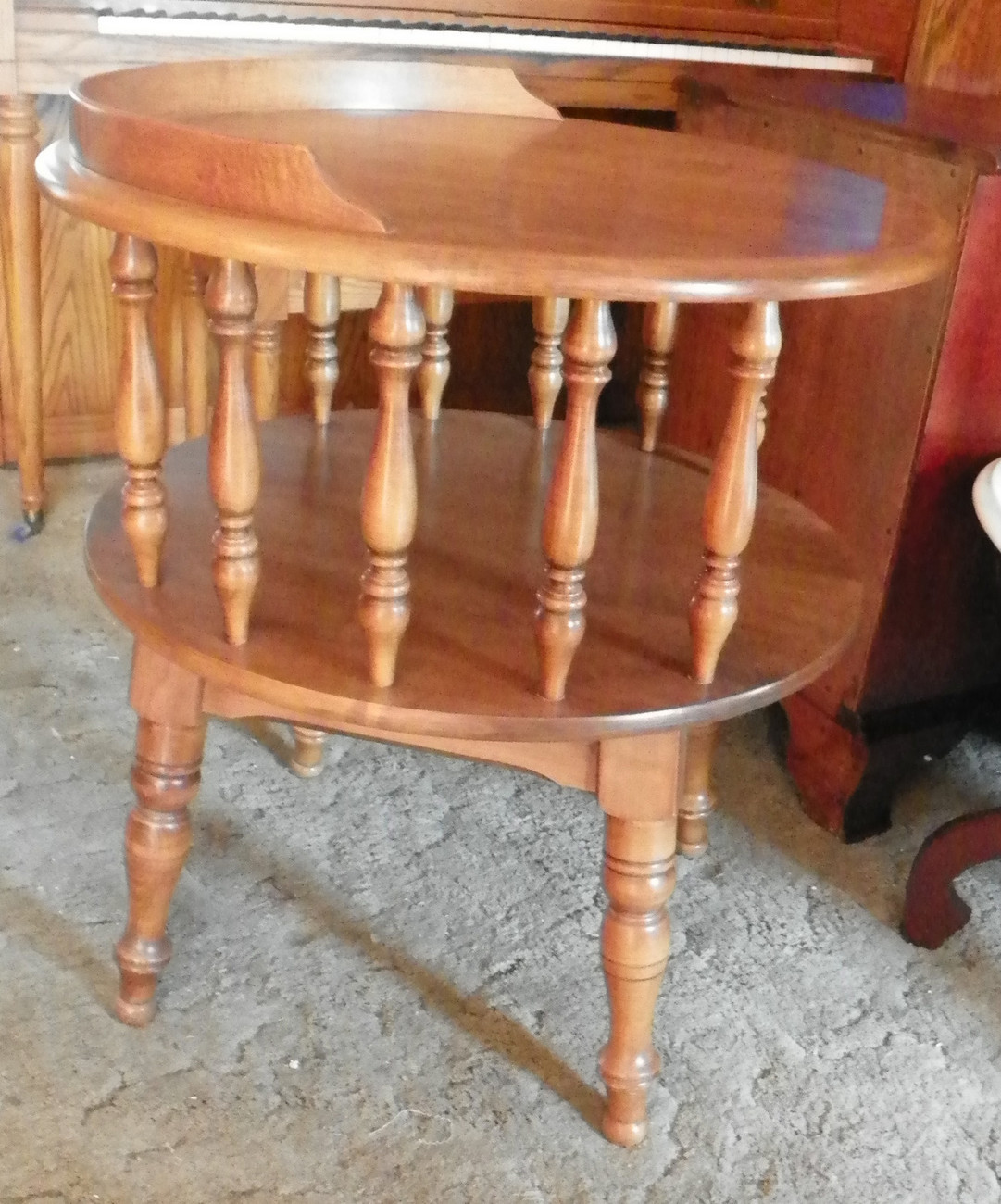 Heywood Wakefield Round 2 Tier Maple Side and 50 similar items