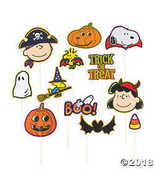 Peanuts Halloween Photo Props  - $10.86