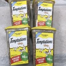 Damaged Box - Temptations Cat Treats Pack of 4, Tasty Chicken Flavor, 16... - $32.71