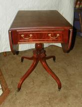Mahogany Inlaid Dropleaf  Pembroke Table  - $799.00