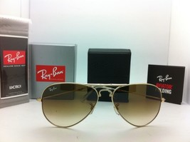 New Ray-Ban Sunglasses FOLDING AVIATOR RB 3479 001/51 Arista w/ Brown gr... - $199.95