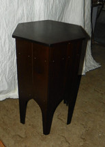 Mahogany Sewing Cabinet Table with Spool Tray - $249.00