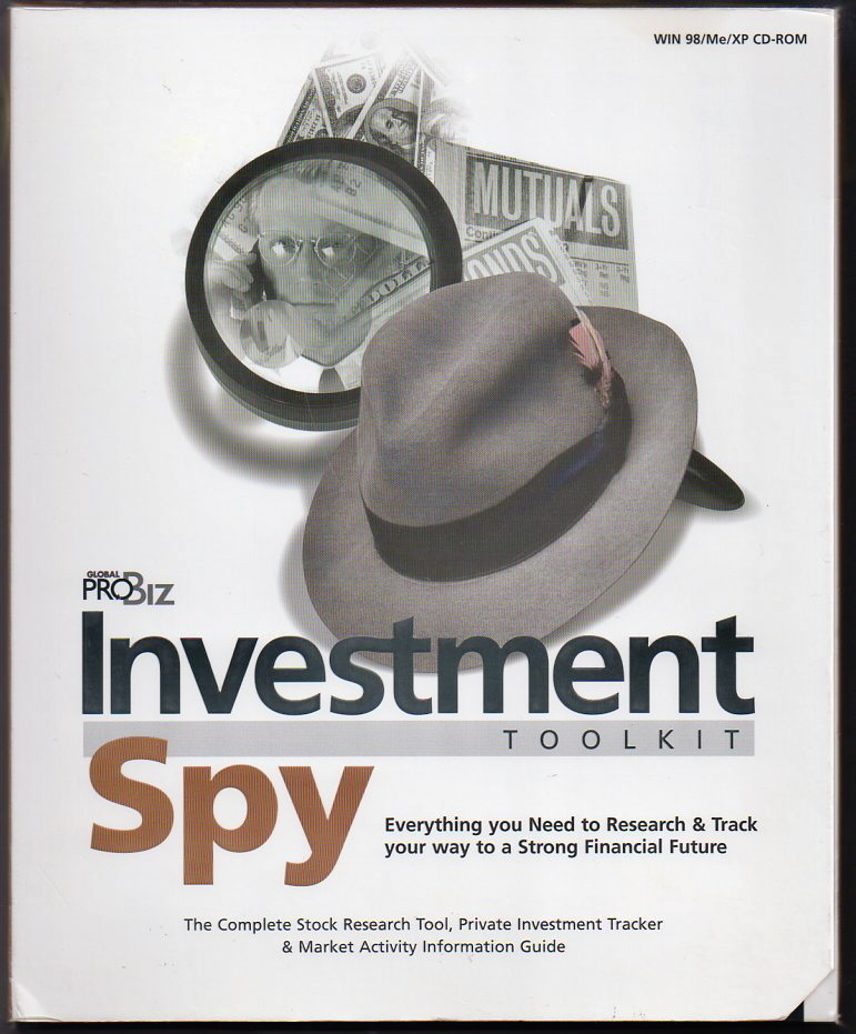 Investment Spy Toolkit - Stock Market CD by Pro Biz NEW