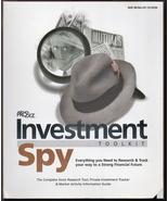 Investment Spy Toolkit - Stock Market CD by Pro Biz NEW - $9.00